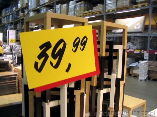 Stoliki z Ikei za 40PLN. Kiedyś kupiłem taki stolik tymczasowo i posiadam go do dzisiaj