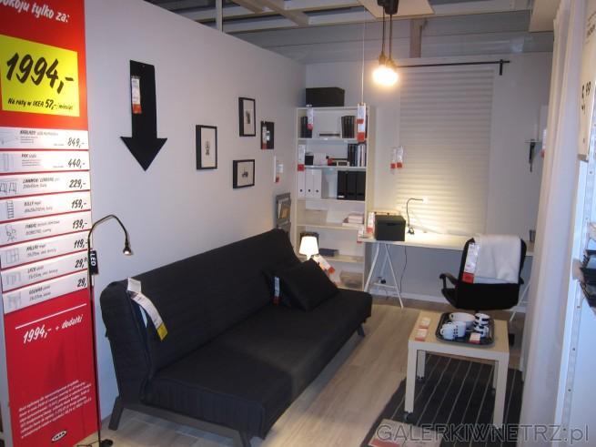 Salon gościnny lub pokój do pracy: znajdziemy tu sofę rozkładaną KARLABY w cenie ...