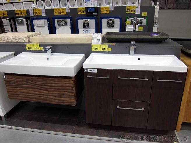 Szafki łazienkowe Pod Umywalkę Duży Wybór W Castorami