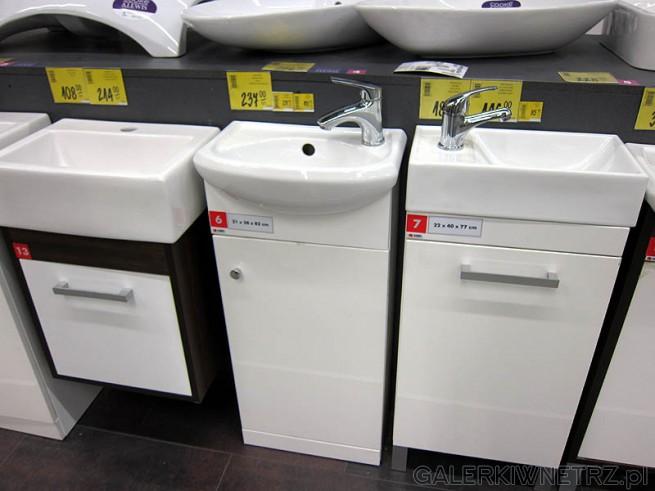 Zdjęcia szafek pod umywalkę