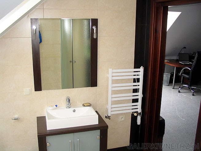 Kaloryfer do łazienki posiada opcję podgrzewania elektrycznego, co jest przydatne ...