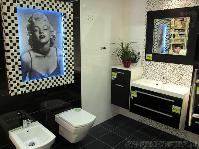 Nowoczesna aranżacja łazienki.