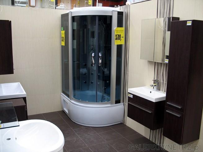 Kabina prysznicowa z sauną