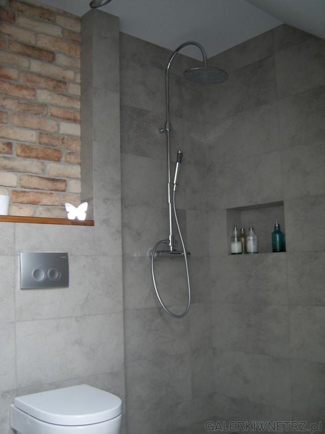 Otwarty Prysznic PAFFONI BERRY ZCOL w tak małym pomieszczeniu jest bardzo wygodnym ...