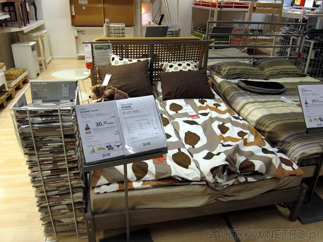 Łóżko Rykene, wymiar miejsca na materac 140x200cm. Cena łóżka 350PLN, cena dna i ...