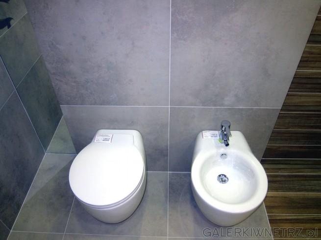 W ofercie Akcess miska WC wisząca w cenie 1395 złotych oraz bidet w cenie 1395 ...