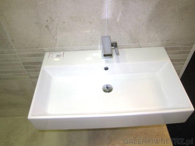Umywalka Plus Design Akcess w cenie 1389 złotych. Dzięki swojemu prostemu kształtowi ...