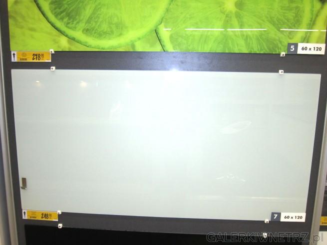 Więcej przykładów szkła laminowanego, o wymiarach 60x120 cm w cenie 248 złotych ...
