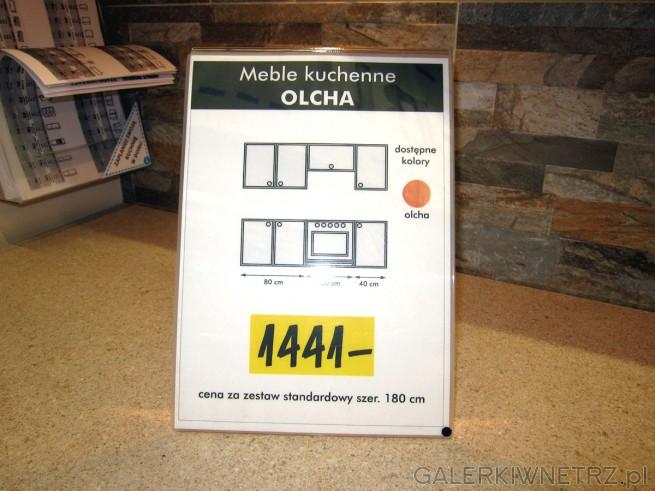 Meble kuchenne OLCHA to propozycja dla osób ceniących sobie tradycjęi klasykę. ...