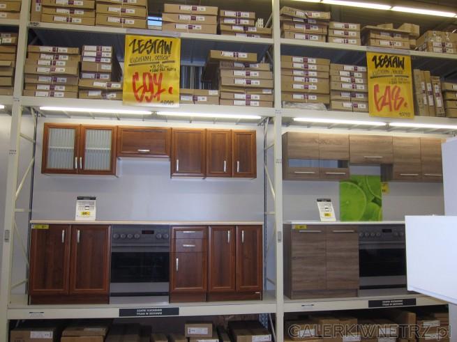 Zestaw kuchenny ORZECH w bardzo atrakcyjnej cenie 697 złotych to zestaw mebli kuchennych ...