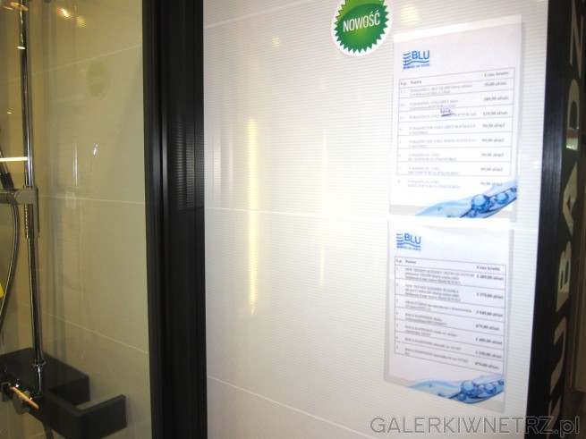 W salonie Blu znajdziemy wiele inspiracji odnośnie glazur, terakot, płytek łazienkowych. ...
