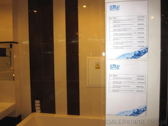 W poprzedniej aranżacji łazienki zostało użytych sporo produktów marki Paradyż. ...