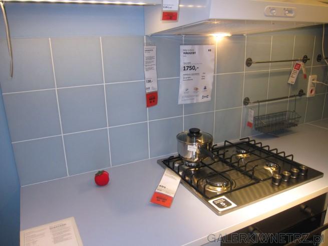 Meble kuchenne HAGGEBY w cenie 1750 złotych za meble, zaś wraz ze sprzętem AGD kosztuje ...