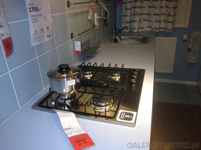W tym zestawie znajdziemy kuchenkęgazową za 499 złotych z czterema palnikami o ...
