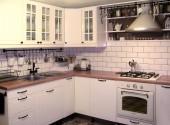 Mała kuchnia w wiejskim stylu